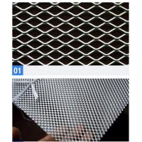 Wholesale Square Diamond Expanded Wire Mesh Roll For Trailer / Zoo Animal Cages from china suppliers