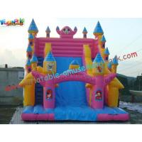 Wholesale Cute Mickey Mouse Commercial Inflatable Slide  /  Customized Inflatable Zip Slide Toys from china suppliers