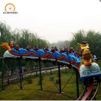 Wholesale Interesting Amusement Park Roller Coaster Sliding Dragon Ride 25 * 16 M from china suppliers