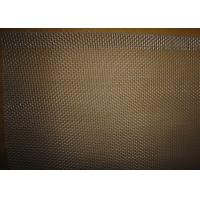 Quality 21 BWG Aluminum Woven Square Wire Mesh , Plain Weave Woven Wire Netting for sale