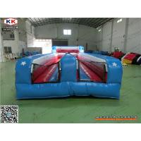Buy cheap Blue Thick PVC Inflatable Sports Arena , Safety Kids Bounce House For Party from wholesalers