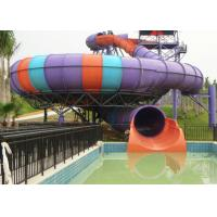 Wholesale Super Bowl Water Slide / Theme Water Park Amusement Slide For Large Swimming Pools from china suppliers
