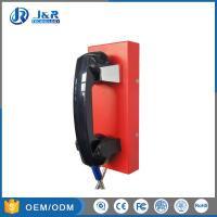 Wholesale GSM/3G Outdoor Public Help Wall Mounted Telephones , Industrial Analog Phones from china suppliers