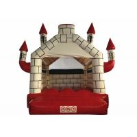 China Reliable inflatable red house jumping castle simply inflatable bouncer house CE UL inflatable bouncer on sale