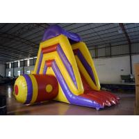 Wholesale Big Commercial Inflatable Water Slides For Pool Short 5 - 8 Kids Capacity from china suppliers