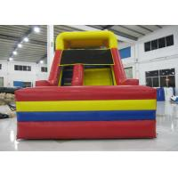 China Outdoor Games Commercial Inflatable Water Slides 0.55mm Pvc Tarpaulin 6 X 3.6m on sale