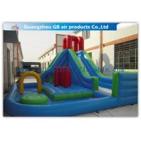 China Kids Backyard Inflatable Water Slides Blow Up , Inflatable Outdoor Water Slides on sale
