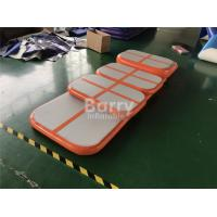 Wholesale Eco - Friendly Children Orange Tumbling Mat Air Track Training Set For Gym from china suppliers