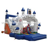 Wholesale Classocal Inflatable Castle Bouncer And Slide Combo For Kids from china suppliers