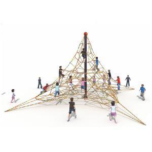 Wholesale KAIQI 2018 Children Outdoor Playground Climbing Nets Outdoor Children Amusement Park Playground Equipment from china suppliers