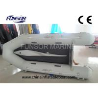Small 360cm ORCA Hypalon Foldable Inflatable Boat With Airmat Floor