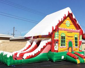 Wholesale Customized Inflatable Bouncer Slide Children Bouncy Castle from china suppliers