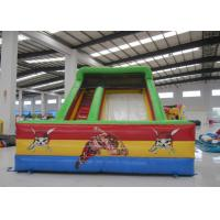 China Kindergarten Baby Commercial Inflatable Water Slides Rutsche Pirate Theme Colourful on sale