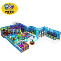 Wholesale Commercial Soft Play Equipment , Children'S Play Center Equipment With Slide from china suppliers