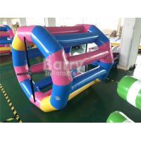 Quality Durable Large Floating Water Wheel / Inflatable Water Walking Roller Ball for sale