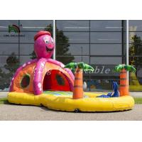 Wholesale Tropical Sea Inflatable Bouncer Combo Swimming Pool Customized Size from china suppliers