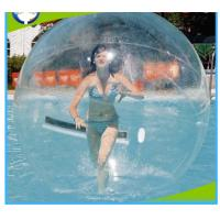 China Adult Inflatable Water Walking Ball , Round PVC Inflatable Floating Water Ball on sale
