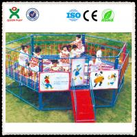 Wholesale Children Hexagon Trampoline With Safety Net Made In China from china suppliers