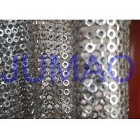 Wholesale Silver Hollow Metal Sequin Fabric Light Sparkling Curtains For Architect from china suppliers