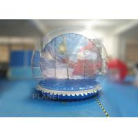 Quality Outside Clear PVC 3m 4m 5m Inflatable Snow Globe With 3 Years Warranty for sale