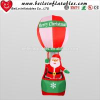 Quality New style inflatable christmas decorations ball with inflatable christmas snow man for sale