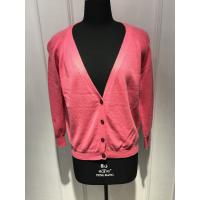 Wholesale Beautiful Soft Womens Cardigan Sweaters With Eyelet Shoulder Design from china suppliers