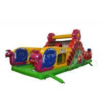 China Water - Proof Air Filled Inflatable Slide , High Tear Strength Giant Inflatable Games on sale
