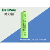 Wholesale 1000mah AA 1.2 V Rechargeable Batteries With UL / CE / ROHS / ISO from china suppliers