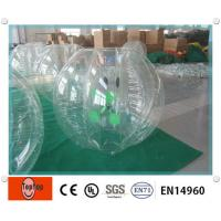 China Custom 0.8mm TPU / PV Outdoor Inflatable body Ball for Amusement Park Equipment on sale