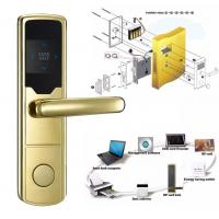 China High Security Software Management System RF Hotel Door Lock Electronic Door Latches on sale