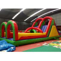 Wholesale Multi - Function Classical Obstacle Course Jump House Four  Suture Technology from china suppliers