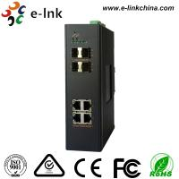 Wholesale Managed Industrial Ethernt Media Converters 4 Ports Gigabit SFP 5 Years Warranty from china suppliers