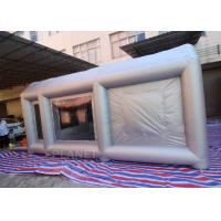 6m Long  Inflatable Spray Paint Tent With PVC Tarpaulin Or Oxford Cloth Material