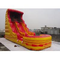 Wholesale Giant Inflatable Water Slide With Pool For Kids / Adults Amusement Inflatable Pirate Ship from china suppliers