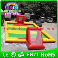 Wholesale Inflatable football field inflatable football pitch soccer football field for footballs from china suppliers