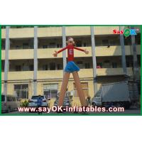 Wholesale Red Cartoon Advertising Air Dancers Printing Attractive 5m High For Supermarket from china suppliers