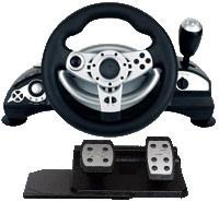 Wholesale Universal Wired Video Game Steering Wheel Compatible Vista32 / Vista64 from china suppliers