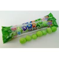 Wholesale Green Bubblegum Chewing Gum , Dora Multi Fruit Flavor Bar In Bags from china suppliers