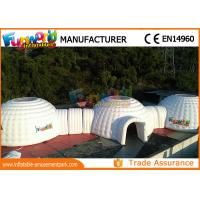 China Customized Air Sealed Inflatable Party Tent , Airtight Igloo Dome Tent on sale