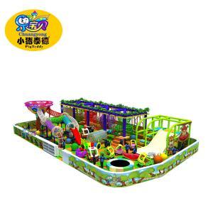 China Toddler Nylon Rope Soft Play Climbing Equipment Galvanized Frame Safe on sale