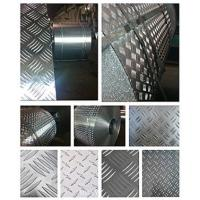 Wholesale Fireproof 5 Bar Aluminum Tread Plate , Aluminum Diamond Plate Wall Panels  from china suppliers