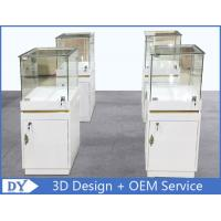 China MDF Jewellery Display Cabinets With Lock OEM 450 X 450 X 1250MM on sale
