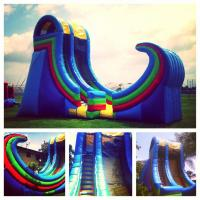 Wholesale Residential Huge Inflatable Water Slides For Kids Custom Logo from china suppliers