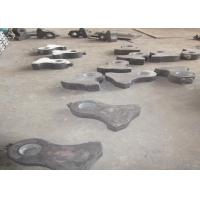 Cr-Mo Alloy Steel Crusher Wear Parts Jaw Plates For Jaw Crushers