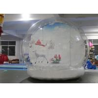 Quality Fire Proof Inflatable Human Size Snow Globe For Party , Event Decoration for sale