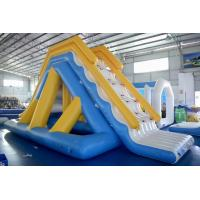 Wholesale New Adults Lake Inflatable Water Park On Water, Open Sea Floating Water Obstacle Course For Sale from china suppliers