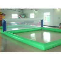 China Floating Inflatable Water Sports Gmaes Toys Volleyball Inflatable Court on sale