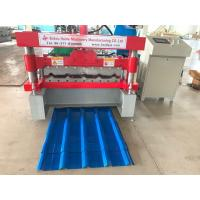 Wholesale PLC Delta Metal Sheet Roof Sheet Roll Forming Machine Feeding Width 915mm from china suppliers