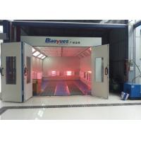 Wholesale Car Painting Room Infrared Paint Booth Centrifugal Fan Heating Separate Control from china suppliers