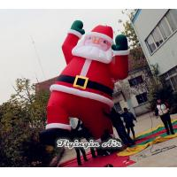 Wholesale 6m Height Oxford Cloth Decorative Christmas Inflatable Santa Claus for Decoration from china suppliers